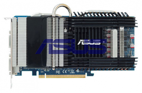 Asus GeForce 9600 GT 600Mhz PCI-E 2.0 512Mb 1800Mhz 256 bit 2xDVI HDCP
